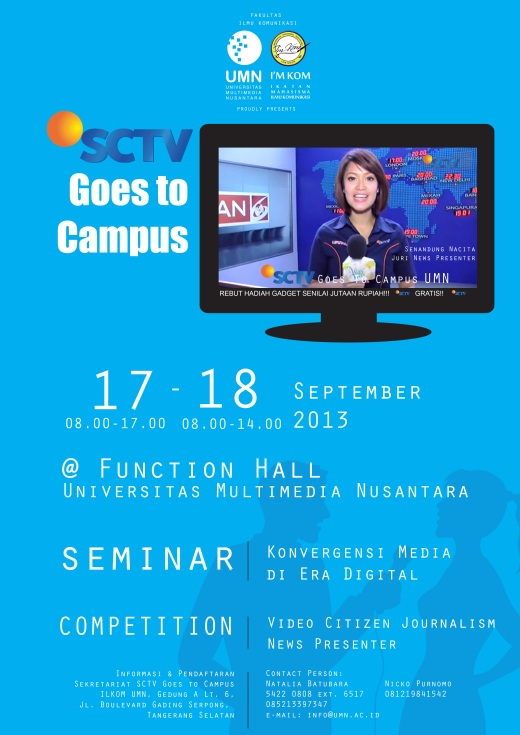 SCTV Goes to Campus!